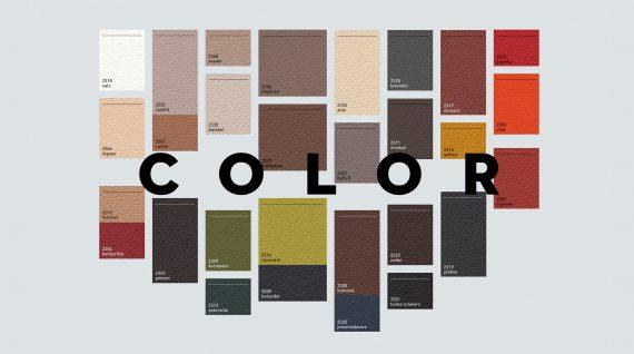 Skantherm Elements odos spalvos pasirinkimas