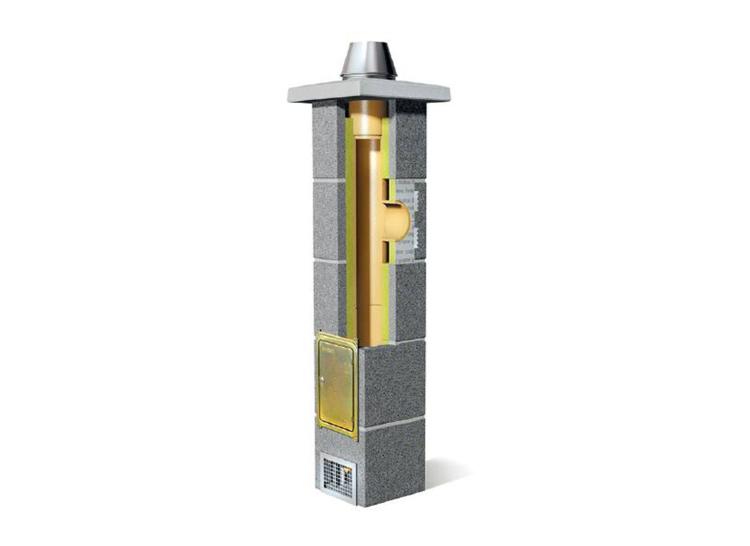 """Modulinė keraminė kaminų sistema """"Rondo Plus"""""""