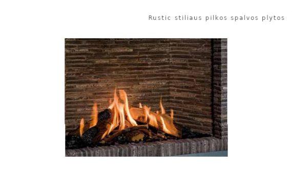 Bellfires Rustic stiliaus pilkos spalvos plytos