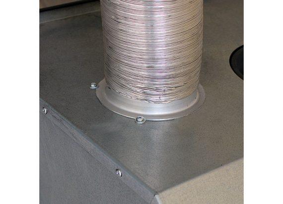 Konvekcijos plieno kamera