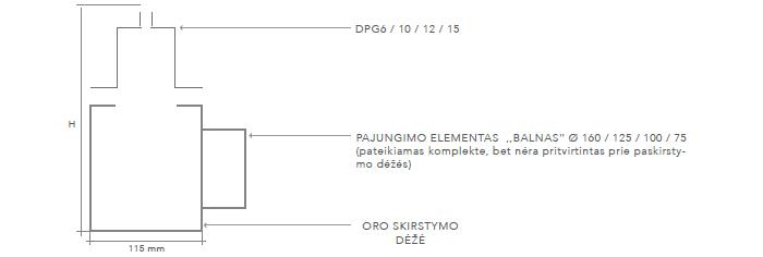 DPG-plysinis-difuzorius-priglaistomas-brėžinys