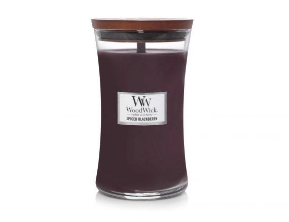 """Aromatinė žvakė WoodWick """"Aštri gervuogė"""""""