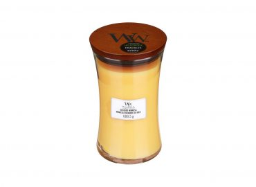 """Aromatinė žvakė WoodWick """"Pajūrio mimoza"""""""