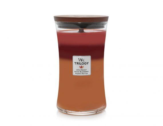 """Aromatinė žvakė WoodWick """"Rudens derlius"""""""