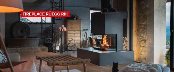 Židinys-ugniakuras Ruegg RIII